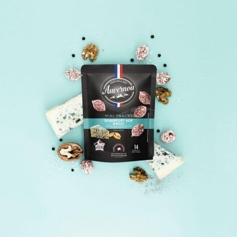 Auvernou Fp Mini Snacks Roquefort&noix Déf