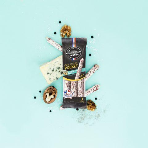 Auvernou Fp Mini Sticks Pocket Roquefort&noix Déf