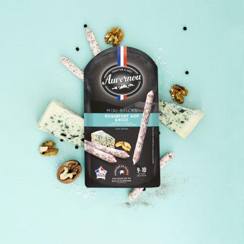 Auvernou Fp Mini Sticks Roquefort&noix Déf